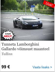 2147760f2ad Sinu unistuste täitmiseks pakub Kingitus.ee Sulle võimalust sõita  legendaarsete sportautodega Ferrari F360 ja Lamborghini Gallardo. Vali ise!